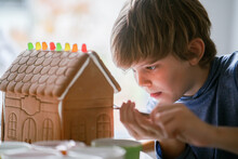 Gingerbread House Concentration