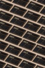 Solar Calculators Forming A Mosaic