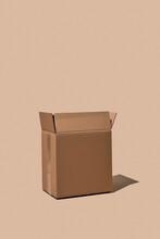 Open Corrugated Fiberboard Box