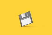 Grey Floppy Disc