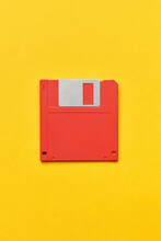 One Red Floppy Disc