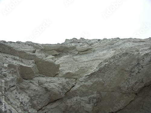 Photo Steep rock face cliff