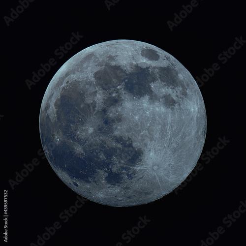Fotografie, Obraz Mineralny Księżyc w pełni