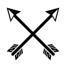 Arrows Crossed Symbol