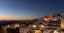 Spanish Town At Night