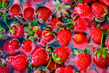 Strawberries On The Market