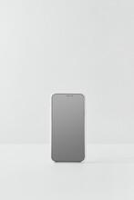 White Smartphone On White Background