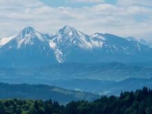 Widok Na Tatry Wysokie Z Palenicy