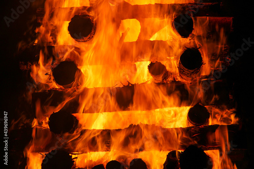 Canvastavla Fogo fogueira