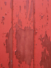 Old Door With Flaking Paint