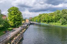 Spandau Locks On The River Havel In Berlin, Germany