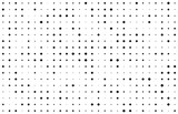 Abstract monochrome background with random rhombuses. Stylish modern dotted texture.