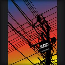 夕暮れの電信柱 - Electric Wire & Utility Pole At Evening Time