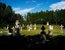 A Small Rural Cemetery.