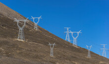 Green Energy Sources Transmission Tower