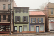 Abandoned Store Fronts In Ellicott City, Maryland