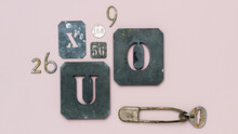 Collection Of Numbers And Letters