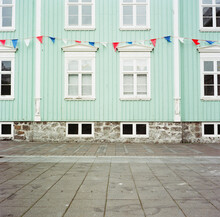 Pennant Banner Flags In Iceland