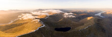 Helvellyn And Striding Edge Aerial Lake District