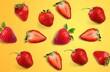 Leinwandbild Motiv Strawberry.
