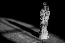 Statue Of Jesus And Maria