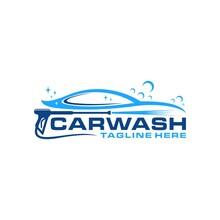 Car Wash Logo With Pressure Wash
