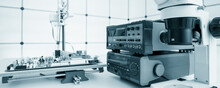 Automated Control Of Printed Circuit Boards. Control Of Chip Mounting.