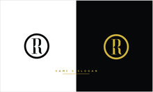 RO ,OR Abstract Letters Logo Monogram