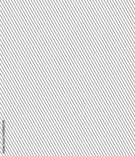 Canvas Print Vector geometric seamless pattern