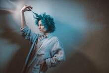 Portrait In Blue.