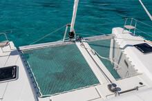 Net On Board Of Yacht