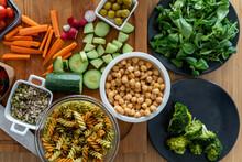 Vegan Meal Lunchbox Ingredients