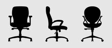 Chair Silhouette Vector Collection