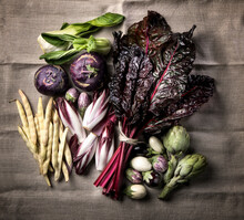 Harvest Of Various Vegetables