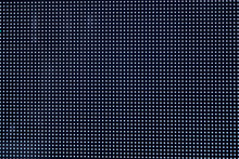Macro Detail Of Blue Led Screen