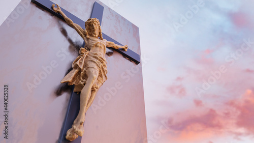 Canvastavla Jesus Christ at the cross