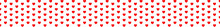 Abstract Red Hearts Pattern Background With Seamless Background