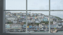 Brixham Harbour View From The Window