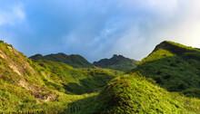 Meadow Teapot Mountain Peak, Taiwan.