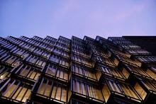 UK, London, Low Angle View Of Skyscraper