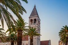 Croatia, Split-Dalmatia County, Trogir, Bell Tower Of Church Of Saint Dominic