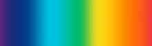 Abstract Rainbow Blurred Gradient, Concept Banner - Vector