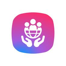 Social Media - App Icon Button