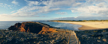 Vicentine Coast And Southwest Alentejo Natural Park On Western Algarve