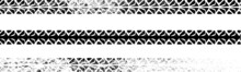Vector Print Textured Tire Track . Design Element .Bike Thread Silhouette