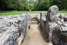 Parc Cwm Long Cairn, Also Known As Parc Le Breos Burial Chamber, Is A Partly Restored Neolithic Chambered Tomb, Identified In 1937 As A Severn-Cotswold Type Of Chambered Long Barrow.