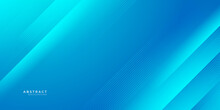 Modern Blue Abstract Background, The Look Of Blue Gradient Vibrant Color, Light Lines On A Blue Background