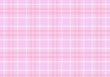 【背景素材】タータンチェック柄023 英国風シームレスパターン(ピンク&ベージュ&オレンジ&白)