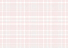 【背景素材】タータンチェック柄017 英国風シームレスパターン(ピンク&ベージュ&白色&グレー)