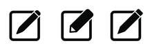 Edit Icon Symbol Vector. Edit Text Icon.